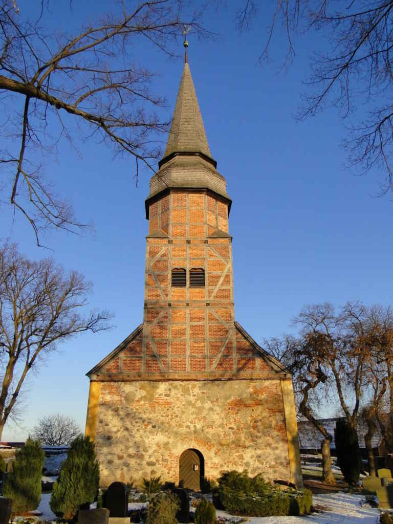 Gehrener Kirche im Winter