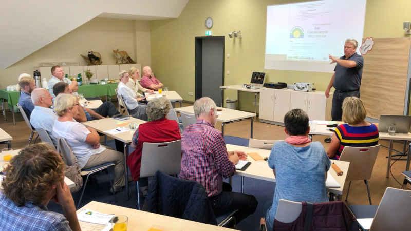 Seminar im oberen Gemeinschaftsraum